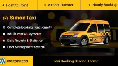 Photo of SimonTaxi – Taxi Booking WordPress Theme