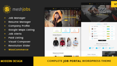Photo of MeshJobs – A Complete Job Portal WordPress Theme