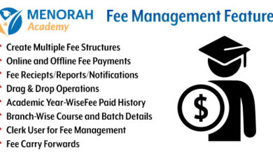 Photo of Menorah Academy – FEE Management Module