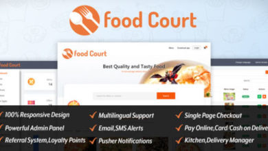 Photo of Food Court-Restaurant Booking Application